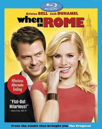 WHEN IN ROME BY DUHAMEL,JOSH (Blu-Ray)